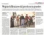 Wojciech Bruszewski przekracza granice