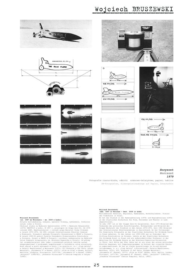 Strona z katalogu wystawy